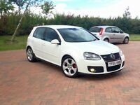 Vw golf gti+1 owner +FSH+candy white+dump valves
