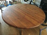 Dining Table Solid Pine