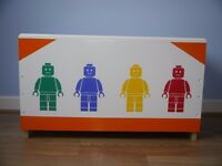 Toy Boxes Blanket Boxes can be personalise with your child's name.