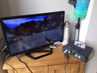 Nintendo N64 Console + Goldeneye + Waverider + Zelda + Mortal Kombat - Fully working
