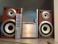 STEREO RADIO-CD-TAPE