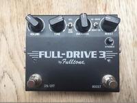 Fulltone Fulldrive 3 - as new!
