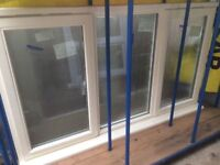 Large Cream Hardwood Jeld Wen Wooden window 1060 t x 1800w