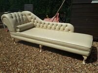 Beautiful chaise long.