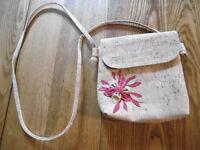 Pretty little cork handbag with shoulder strap