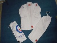 Judo outfit by Fighting Films, size 130, 7 to 9 year old