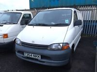 Toyota Hiace Power van spare parts Available