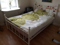 SALE - Great Quality Double Bed with Mattress - Must sell fast