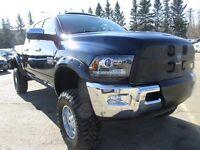 2014 Ram 3500 Laramie - LOADED - LIFTED - MEGACAB!!!