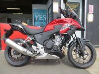 2014 HONDA CB500-XA-E - £3899 - Only 3910 miles on clock. Great bike.