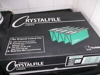 50 Crystalfile Linked Suspension Files £5 The Lot