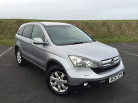 2008 HONDA CR-Vi CDTI VERY HIGH SPEC WITH FULL SERVICE HISTORY AND NEW MOT! STUNNING CAR!