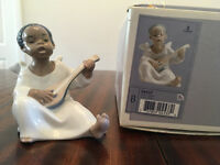 Lladro figurine Black Angel 04537