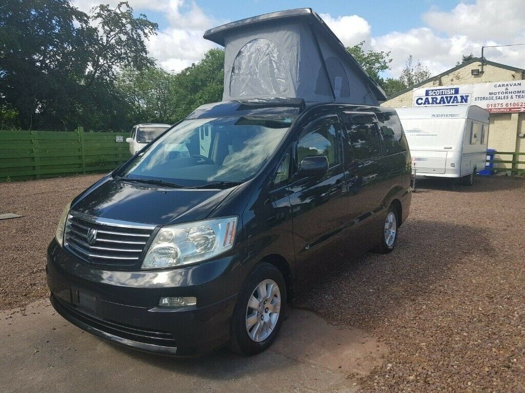 Toyota Alphard 2003 - New Conversion - 4 B - Japanese Import - Low Mileage  - 4WD | in Tranent, East Lothian | Gumtree