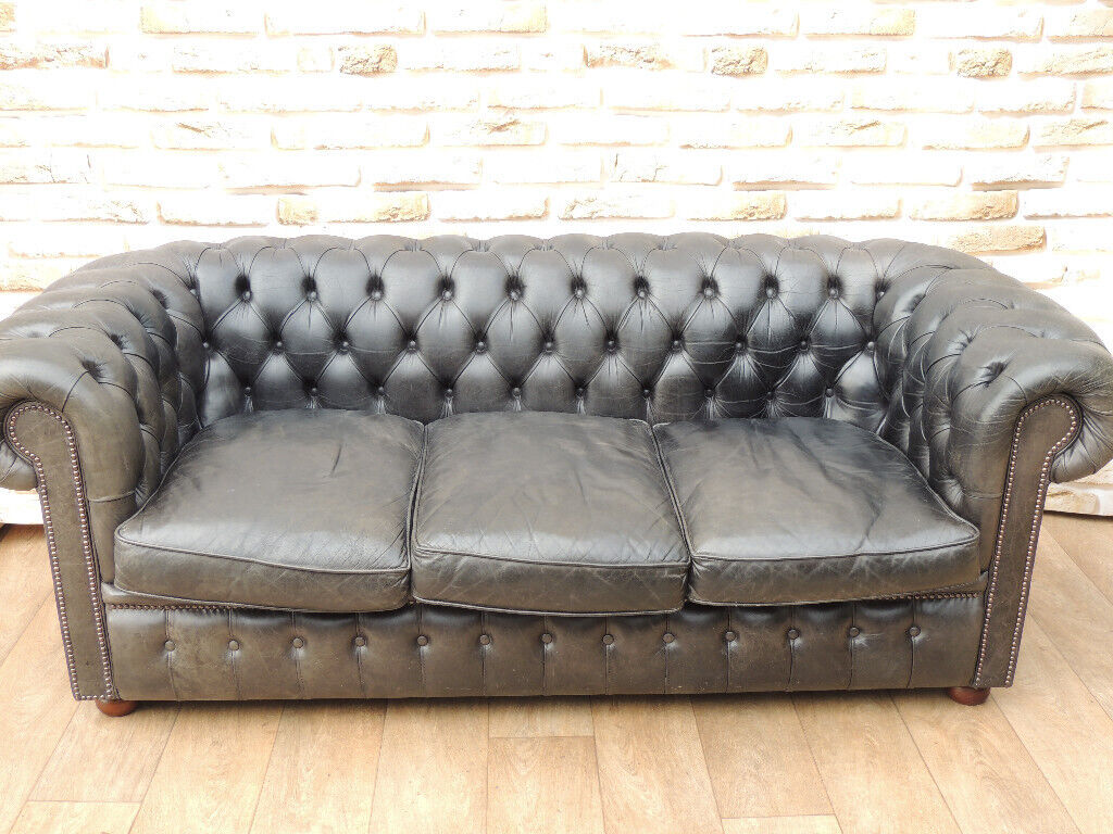 William Blake Chesterfield Sofa chesterfield fleming and howland sofa (delivery) | in eltham, london |  gumtree
