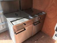 Falcon Fryer x2 *CLEAN GOOD CONDITION Commercial Catering Equipment
