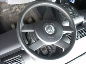 VW FOX 55, 2006-2011 STEERING WHEEL