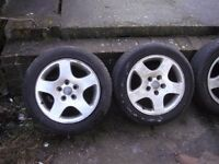 alloy whells and tyres audi vw seat skoda