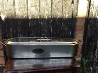 Quality kitchen craft stainless steel fish poacher- fab condition. Perfect for salmon. Bargain