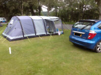 Kampa Hayling 6 Air tent (inflatable) 2015 model