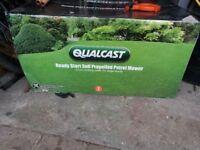 Qualcast lawnmower new in box unused