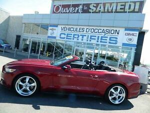 2015 Ford Mustang Convertible EcoBoost Premium + navigation+ 8 P