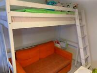Loft bed, high sleeper bed, single bed(free local delivery🚚🚚🚚)