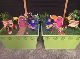 Handmade Fairy Gardens