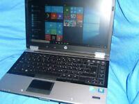 HP Elitebook 8440p Win10 4gb ram 500gb HDD very good condition webcam high spec machine