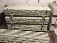 Rock face gravel boards, base panels
