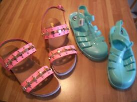 Sandals and Ju Ju Jelly Shoes Kids/Womens, from