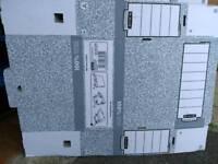 Cardboard Folder boxes x 13
