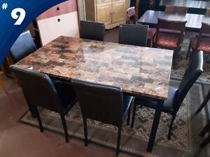 DINING CHAIRS, TABLES AND SETS!!
