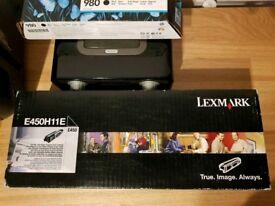 Genuine Lexmark E450H11E Black Toner Cartridge