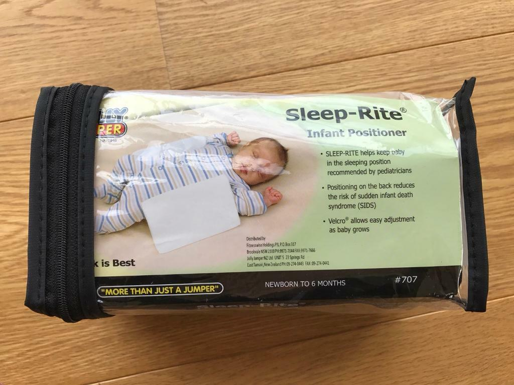 Sleep-Rite baby positioner