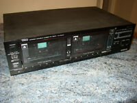 Trio/Kenwood Twin Deck Stereo Cassette Deck model KX-94W