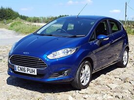 (YouTube Video) 2016 Ford Fiesta 1.0 Zetec Ecoboost 5dr with just 9,500 Miles, One Owner: In Exce...