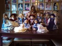 Porcelain Dolls Buyer collects