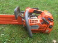 Husqvarna top handle chainsaw
