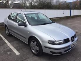 2004 SEAT TOLEDO 1.9 TDI 130BHP NEW MOT FEBRUARY 2019, SAME AS GOLF GT TDI, READY TO GO