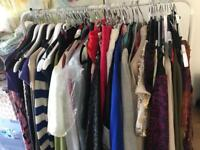 Large ladies clothing bundle 300 pieces