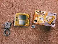 Special Edition Pokemon Yellow 2DS + Pokemon Alpha Sapphire (unboxed)