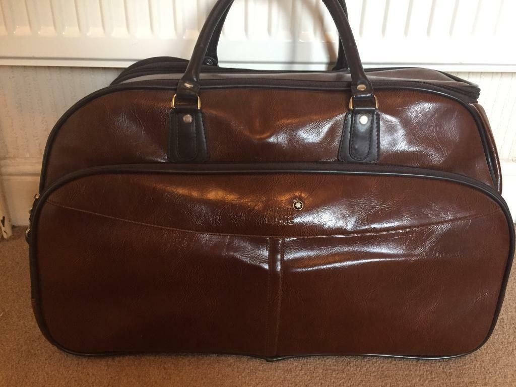Mont Blanc Bag Luggage Carry On In Stoke On Trent