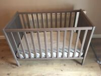 Ikea Sundvik Cot/Bed Brown/Grey.