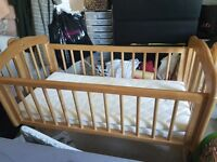 Free Mothercare Swinging Crib