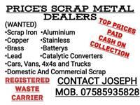 Wanted scrap cars vans 4x4s all scrap iron