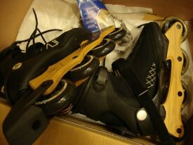 In-line skates size UK7.5 by K2 softboot - still boxed, as new