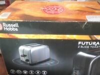 Russell Hobbs FUTURA 2 Slice Toaster *New/Other*