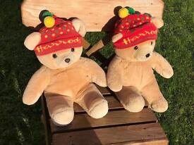 Harrods Christmas Bears 1988