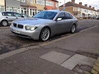 Bmw 735i auto long mot drives looks superb 21 inch Bbs alloys hence price Px welcome